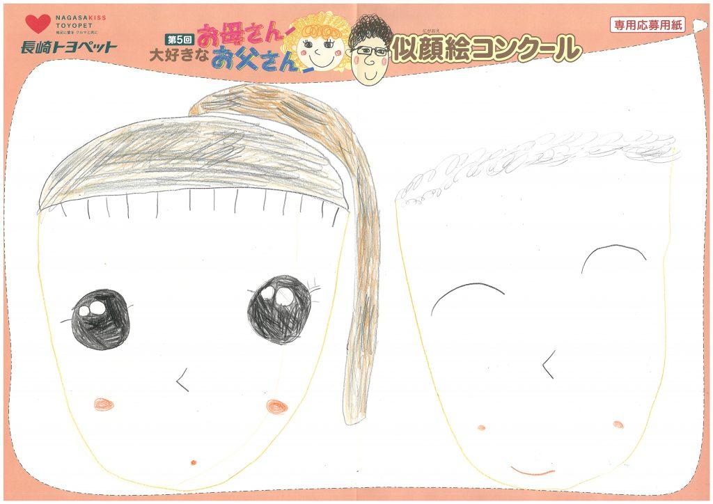 R.Tちゃん(6才)の作品
