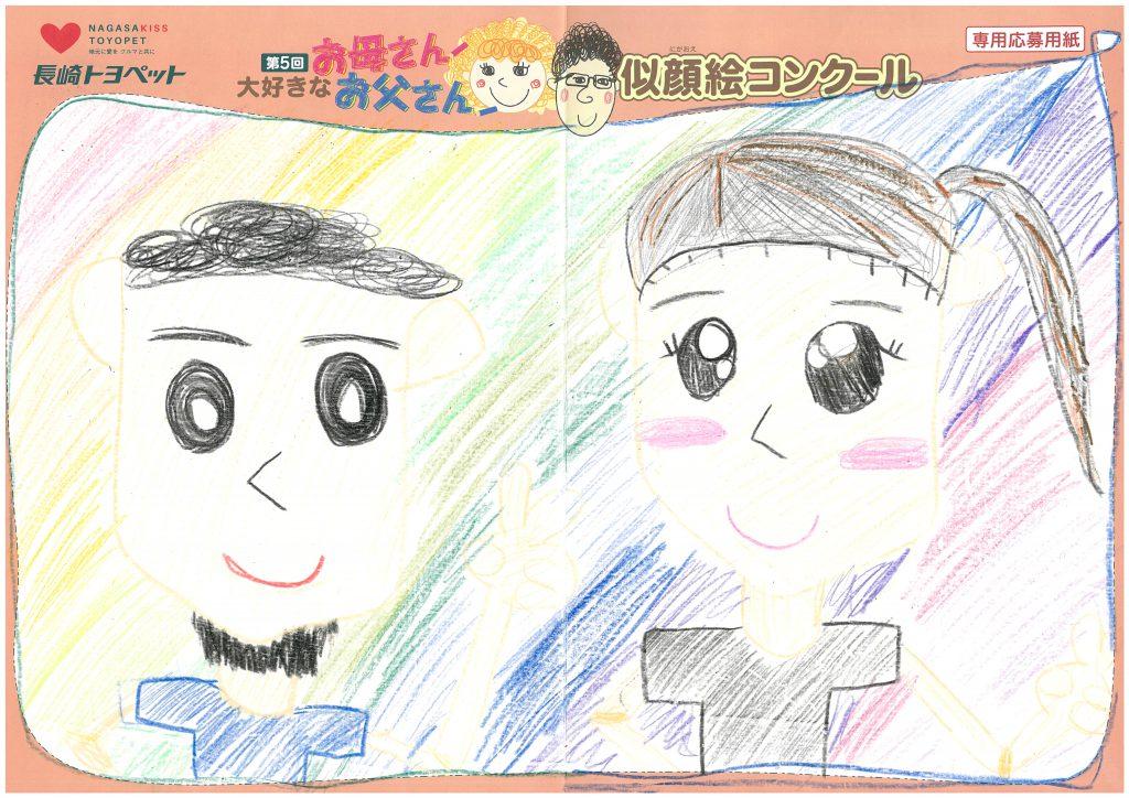N.Tちゃん(8才)の作品