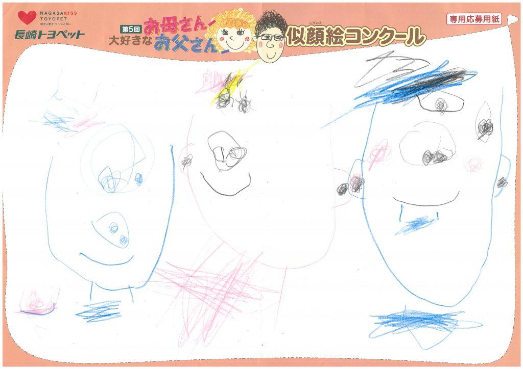 Z.Nくん(4才)の作品