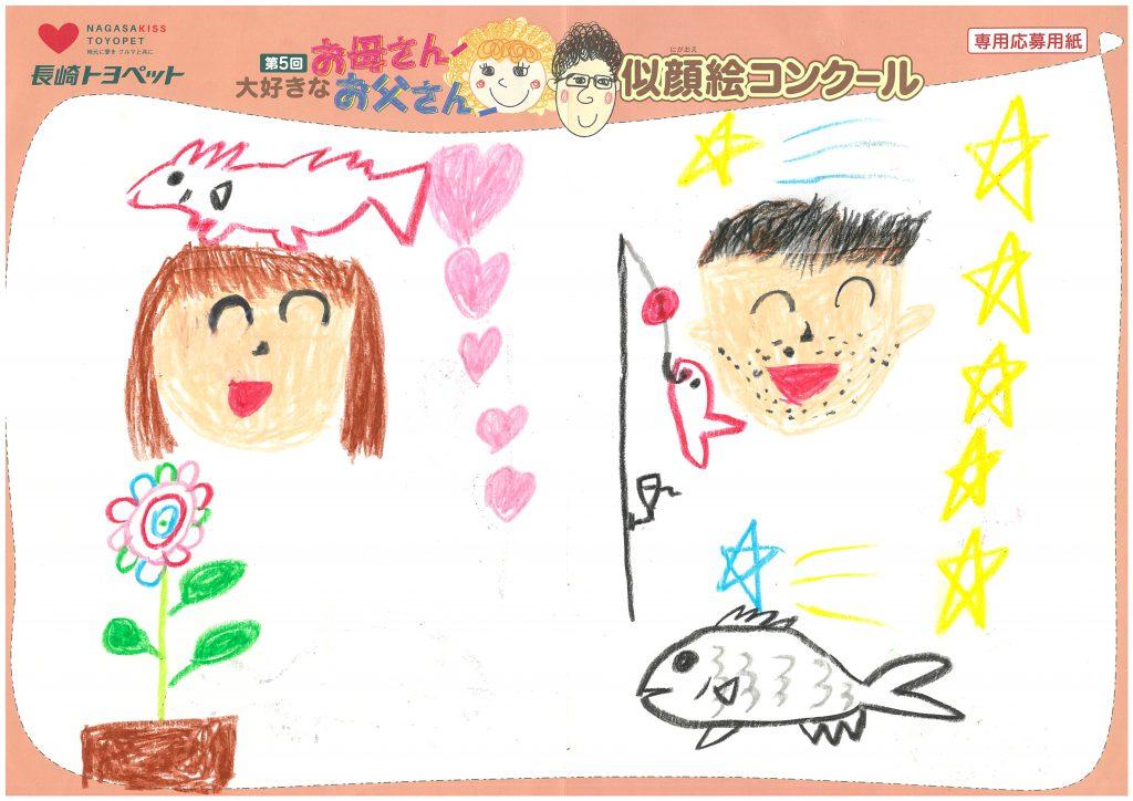 M.Tくん(7才)の作品