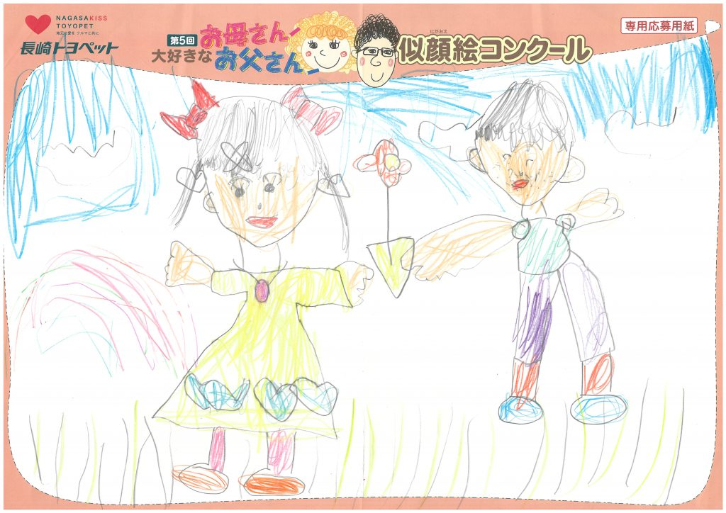 Y.Yちゃん(5才)の作品