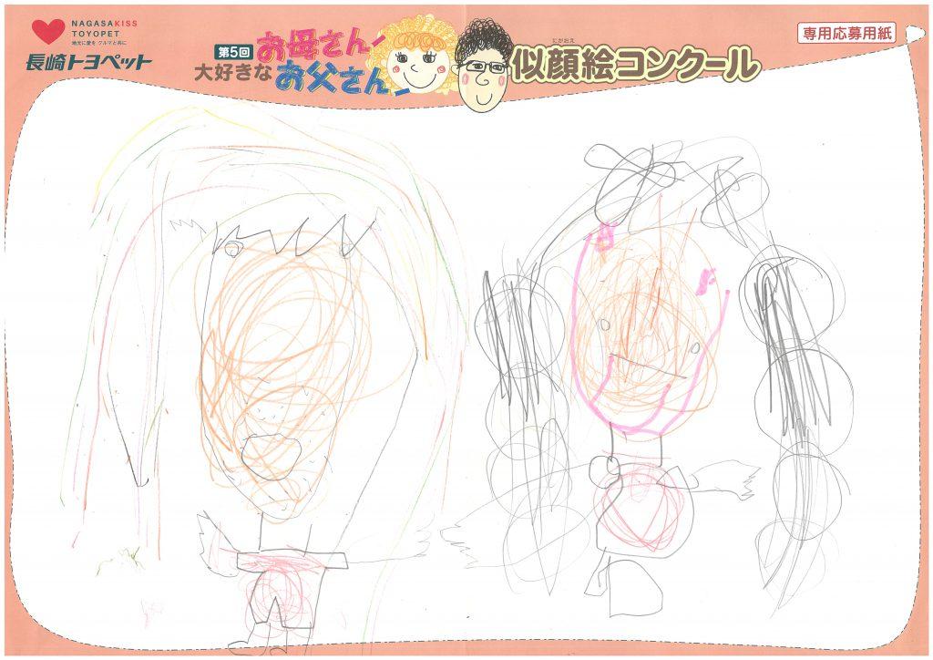 K.Yちゃん(3才)の作品