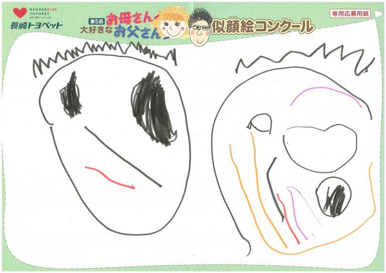 H.Yちゃん(3才)の作品