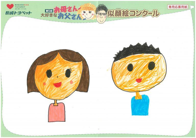 N.Wちゃん(6才)の作品