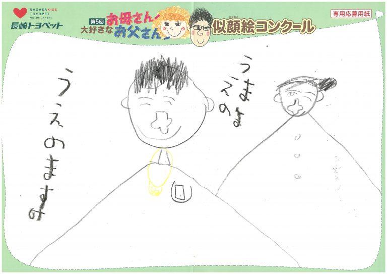 H.Uくん(5才)の作品