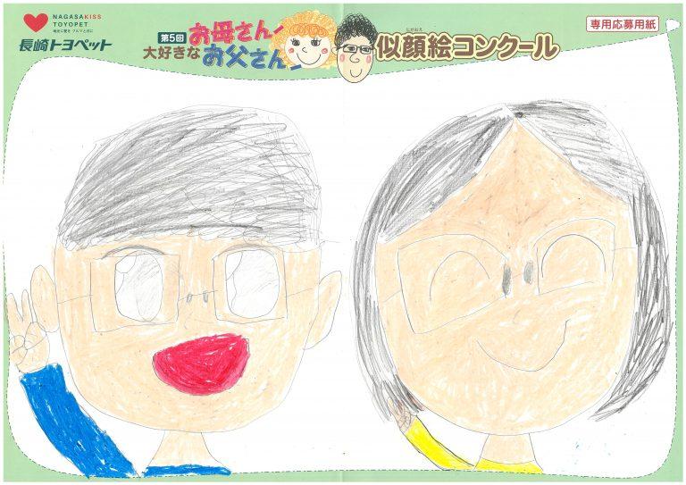 R.Yちゃん(8才)の作品