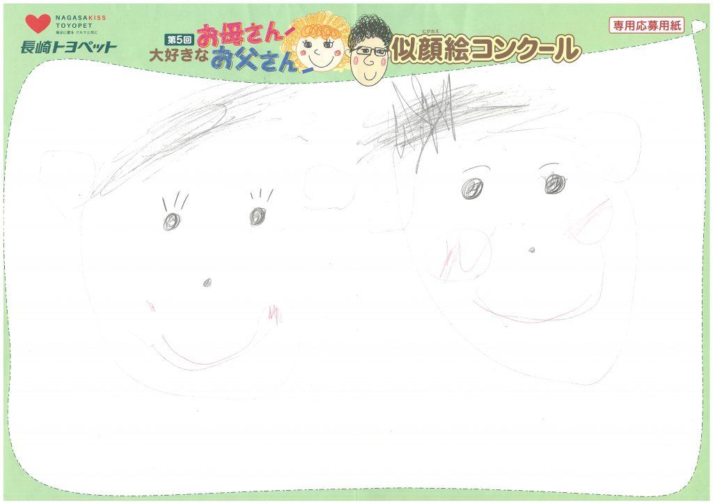 R.Oちゃん(4才)の作品