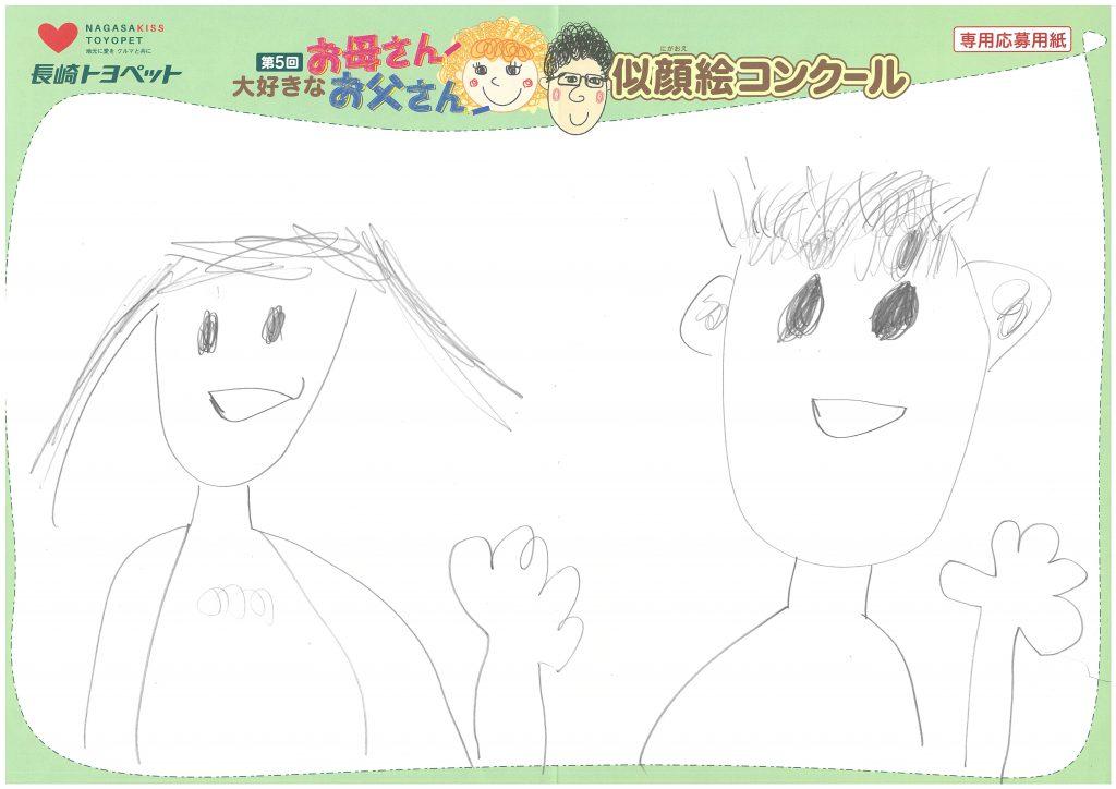 R.Kくん(9才)の作品