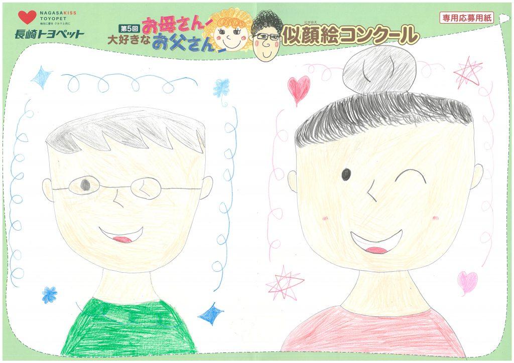 H.Sちゃん(9才)の作品