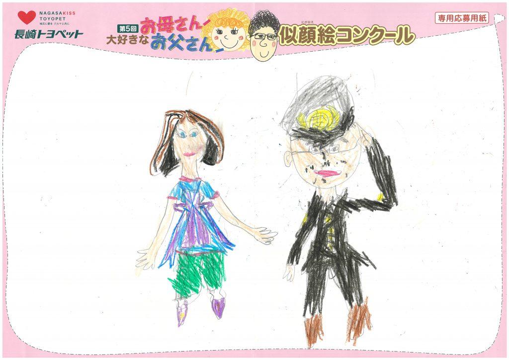 M.Tちゃん(8才)の作品