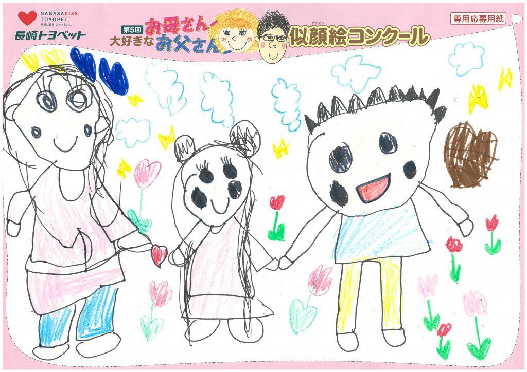 Y.Iちゃん(5才)の作品
