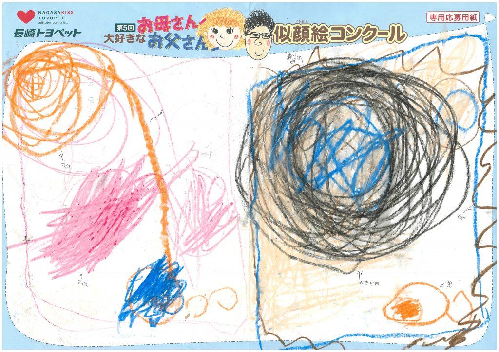 O.Tくん(3才)の作品