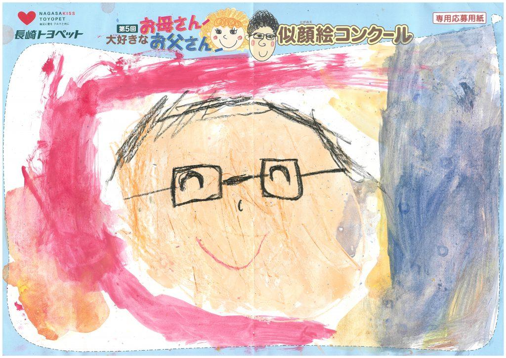 R.Tくん(5才)の作品