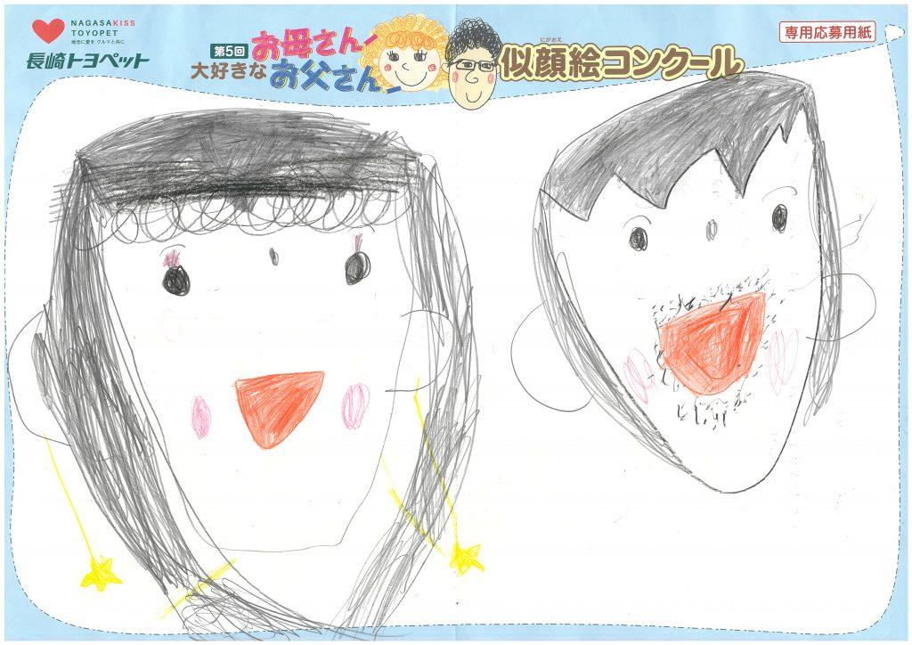 I.Yちゃん(5才)の作品