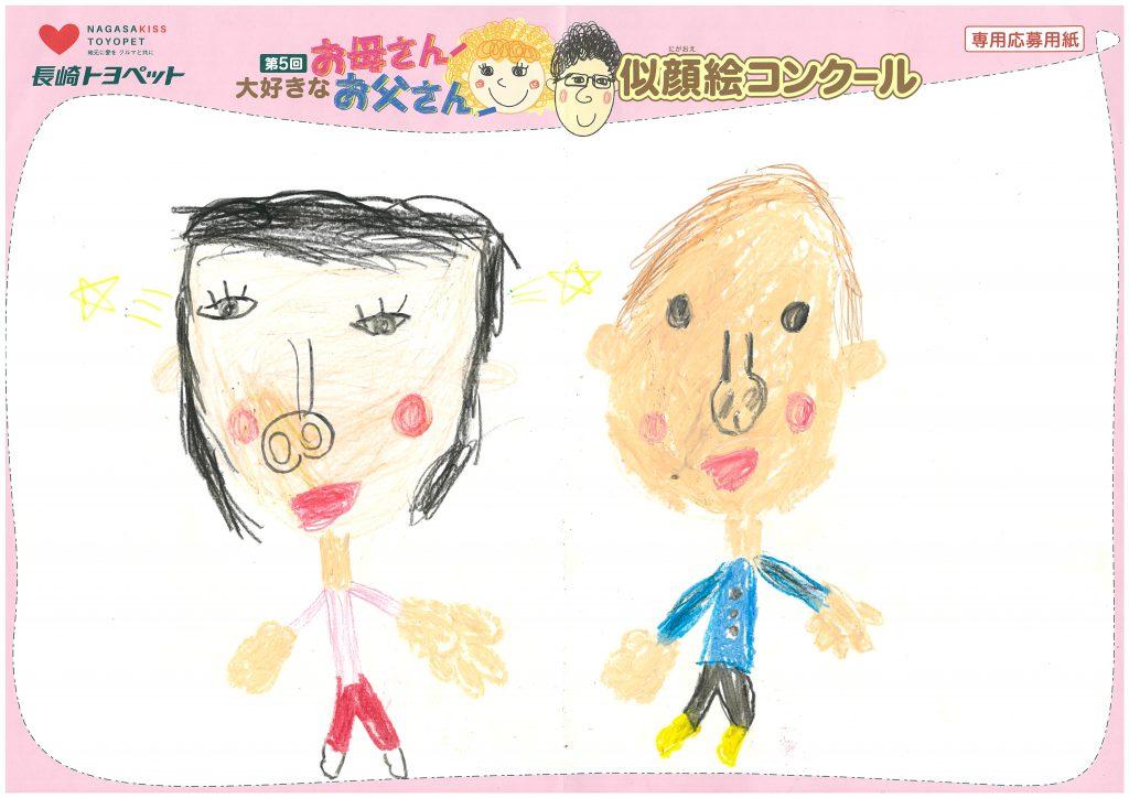 T.Oくん(7才)の作品