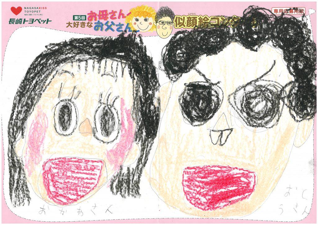 R.Mくん(5才)の作品