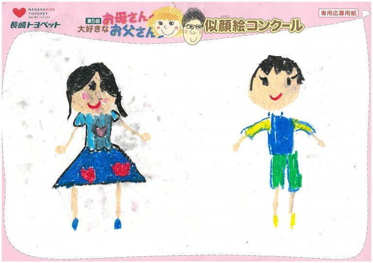 A.Hちゃん(5才)の作品