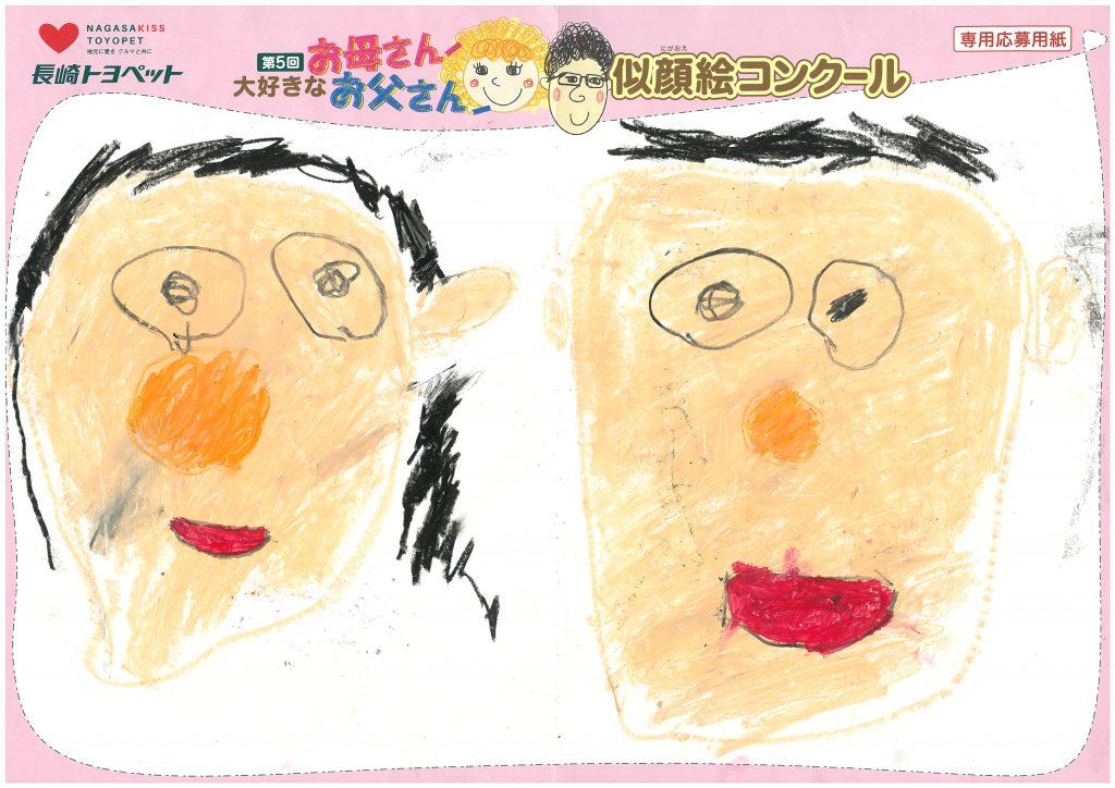 K.Iくん(4才)の作品