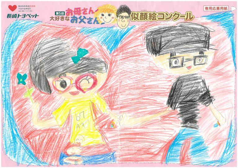 T.Mちゃん(7才)の作品