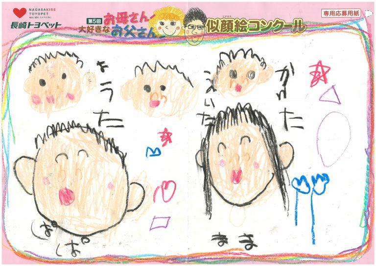 Y.Tくん(5才)の作品
