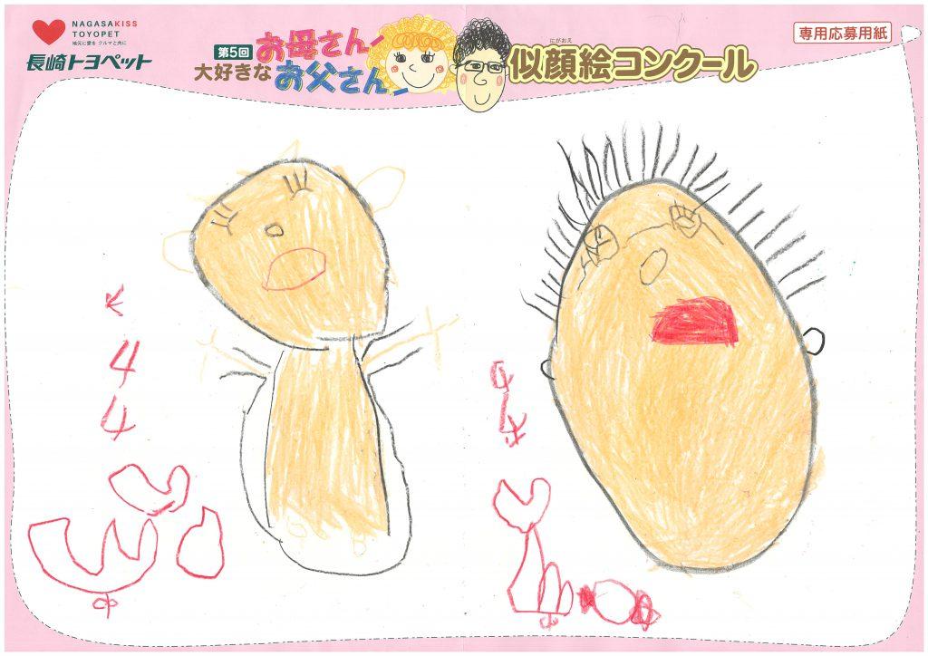 S.Yちゃん(4才)の作品