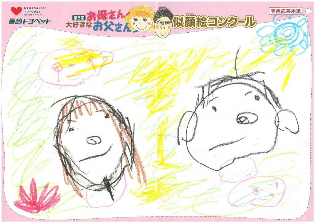 E.Tくん(3才)の作品