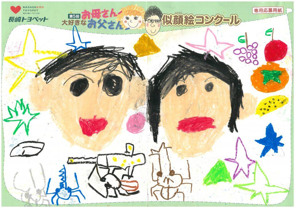 R.Iくん(5才)の作品