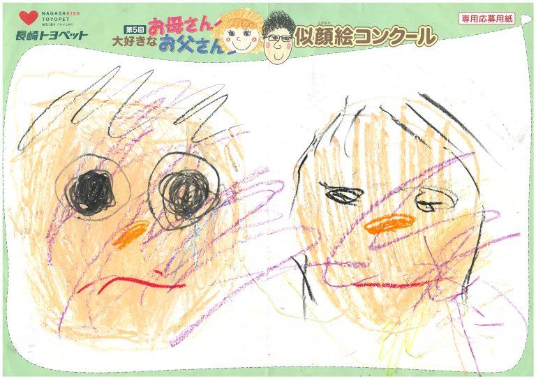 S.Iくん(2才)の作品