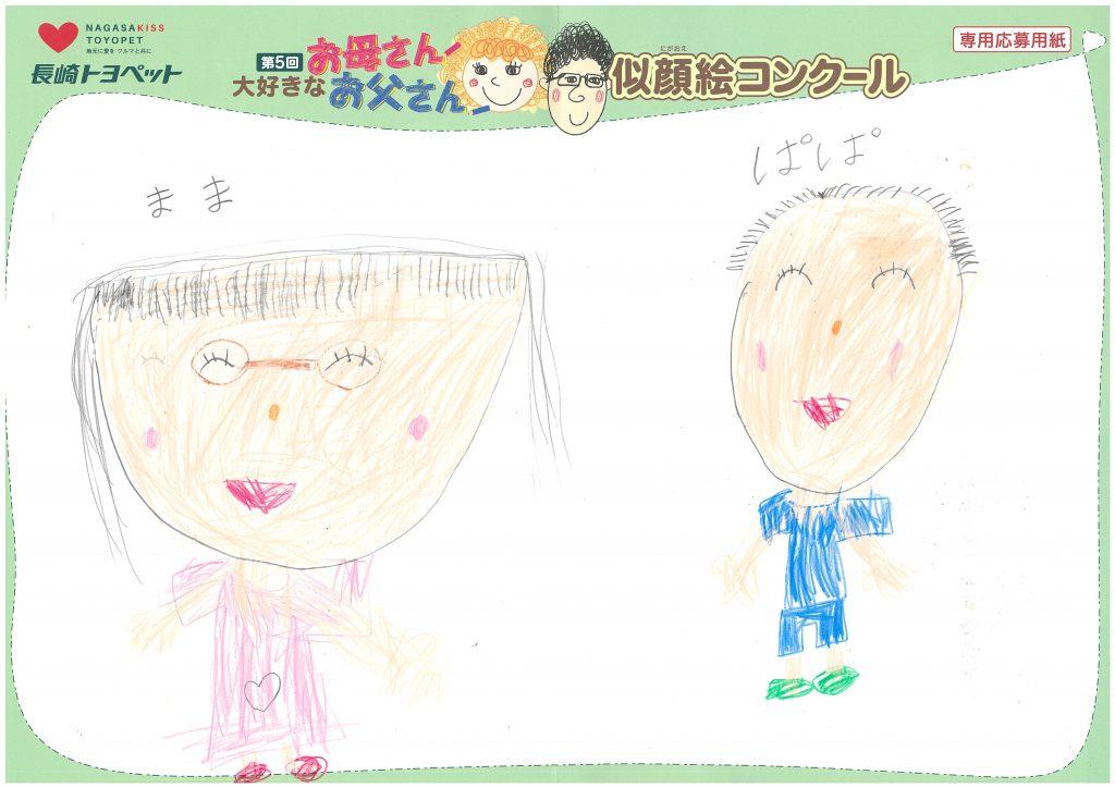 H.Mちゃん(6才)の作品