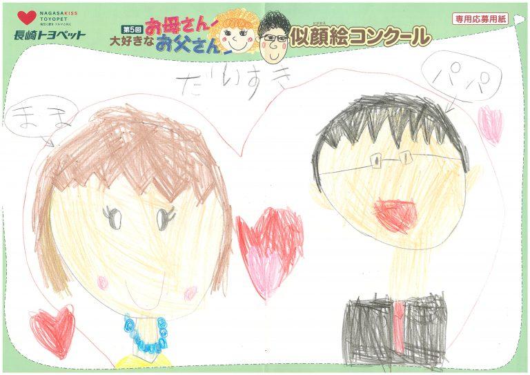 S.Tちゃん(6才)の作品