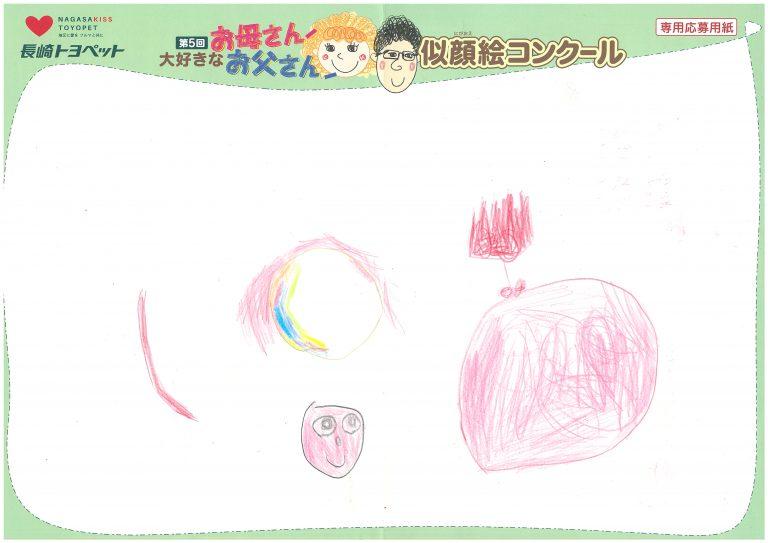 R.Tちゃん(4才)の作品