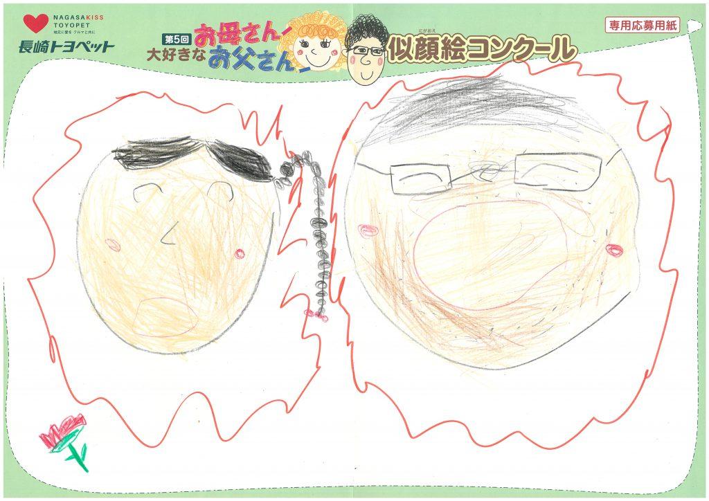 T.Iくん(4才)の作品