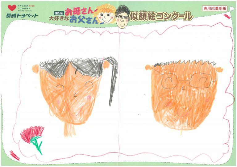 A.Iちゃん(7才)の作品