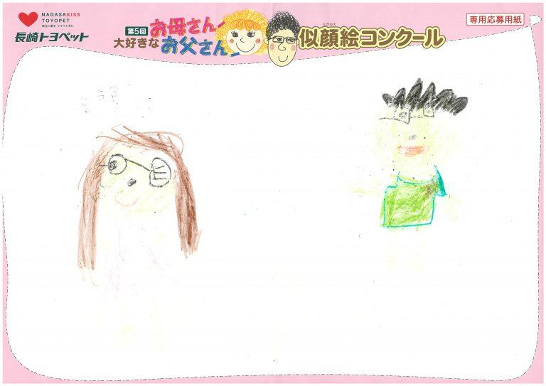 S.Yちゃん(5才)の作品