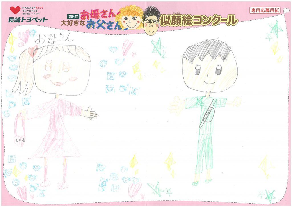 N.Mちゃん(9才)の作品