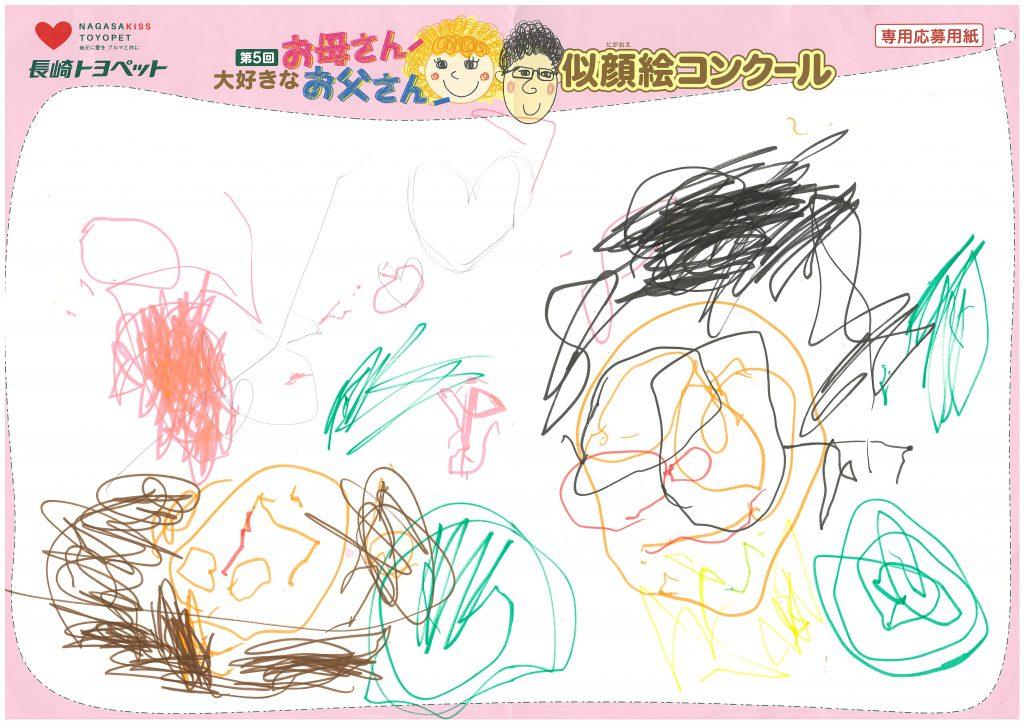 H.Mくん(3才)の作品