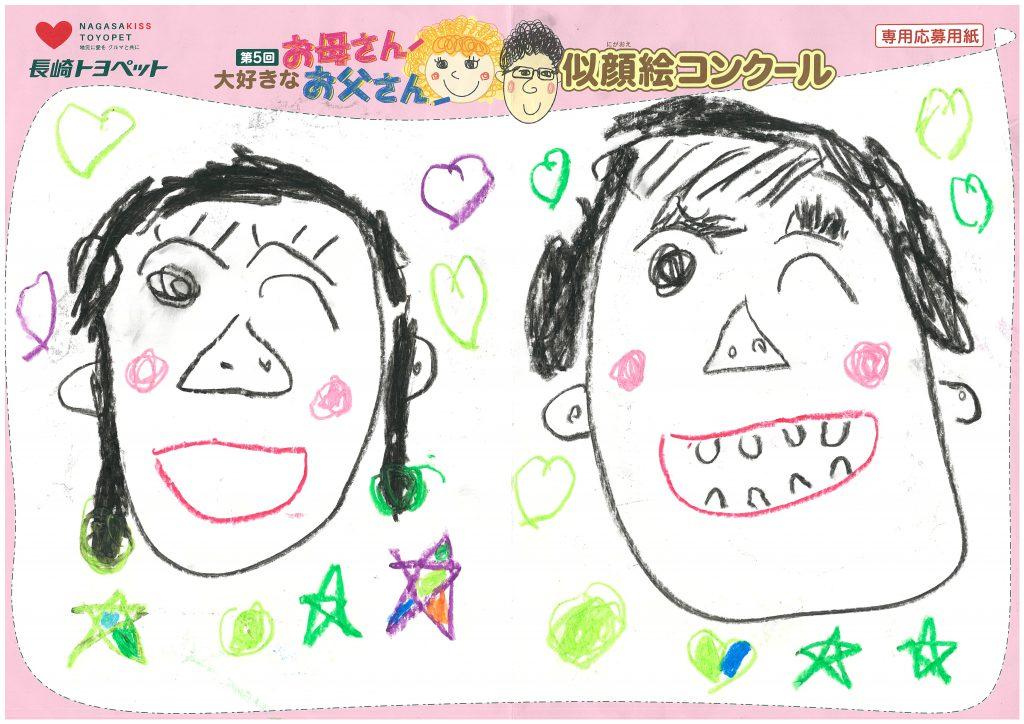 M.Kくん(5才)の作品