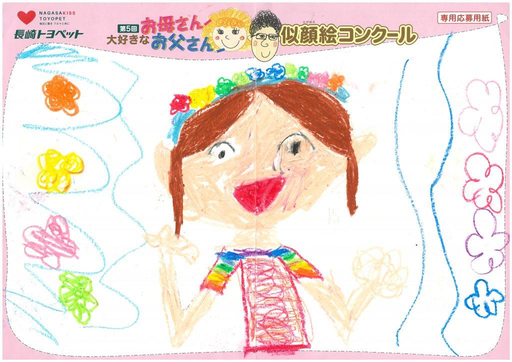 S.Mちゃん(7才)の作品