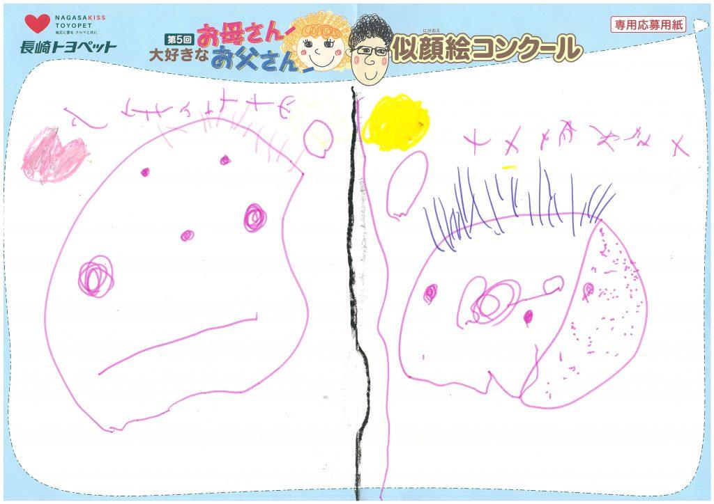H.Mちゃん(3才)の作品