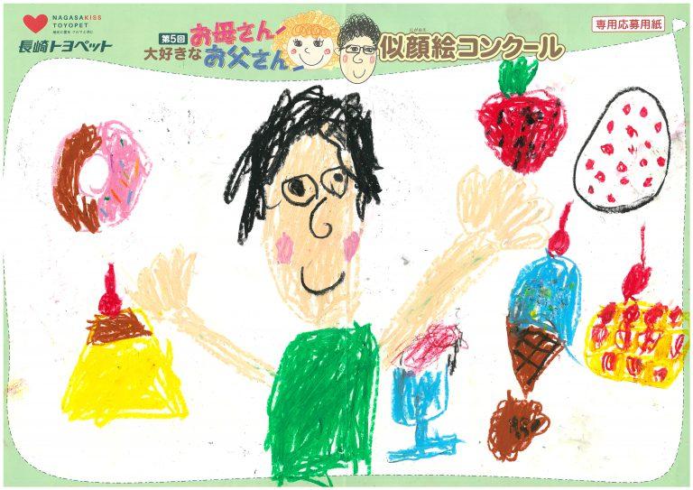 T.Sちゃん(6才)の作品