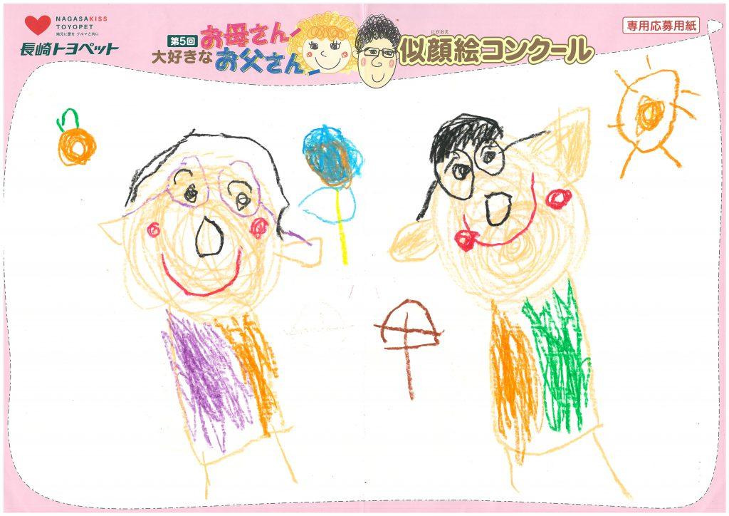 M.Eちゃん(5才)の作品