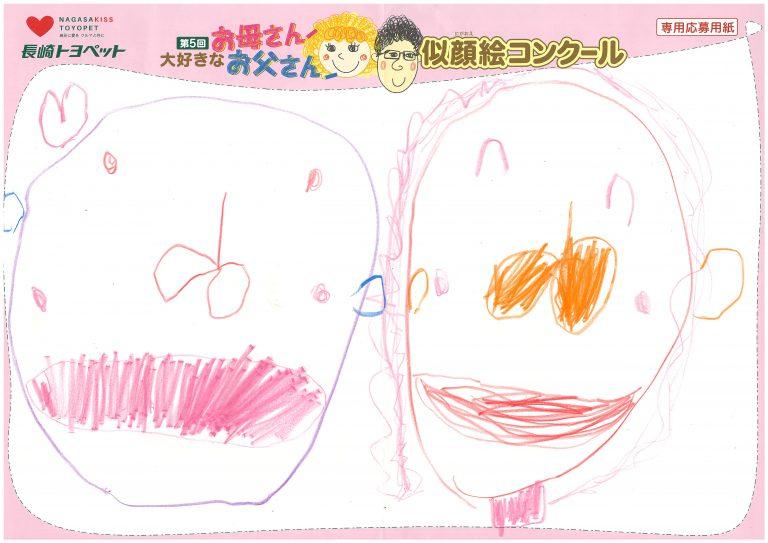 M.Tちゃん(4才)の作品
