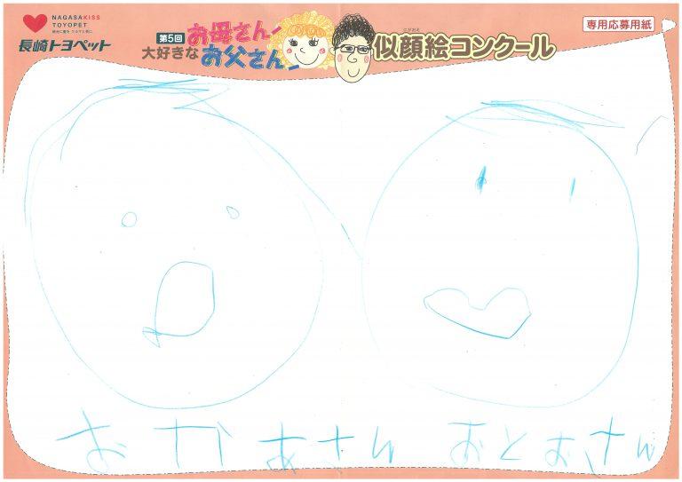 R.Oくん(5才)の作品