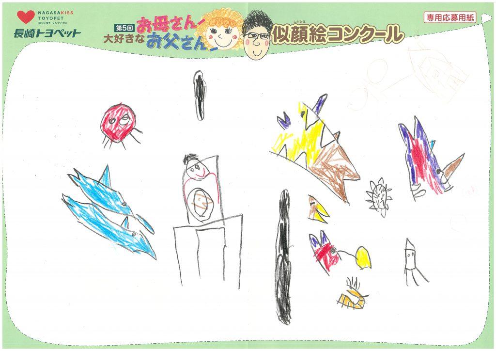 E.Tくん(6才)の作品