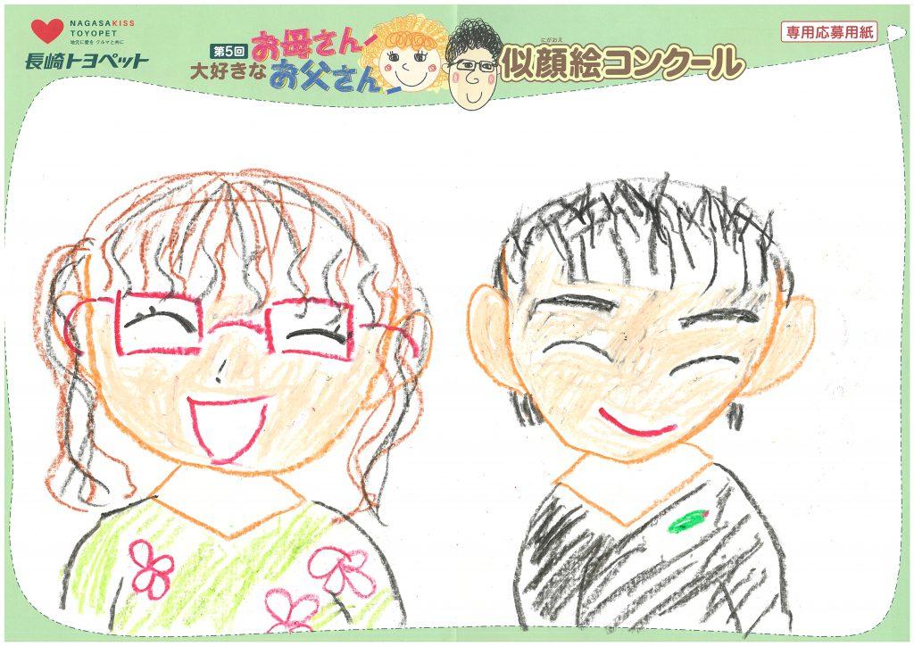 A.Dちゃん(10才)の作品