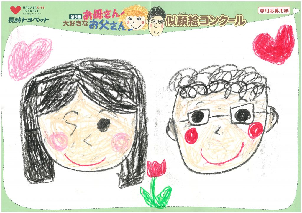 K.Hちゃん(6才)の作品