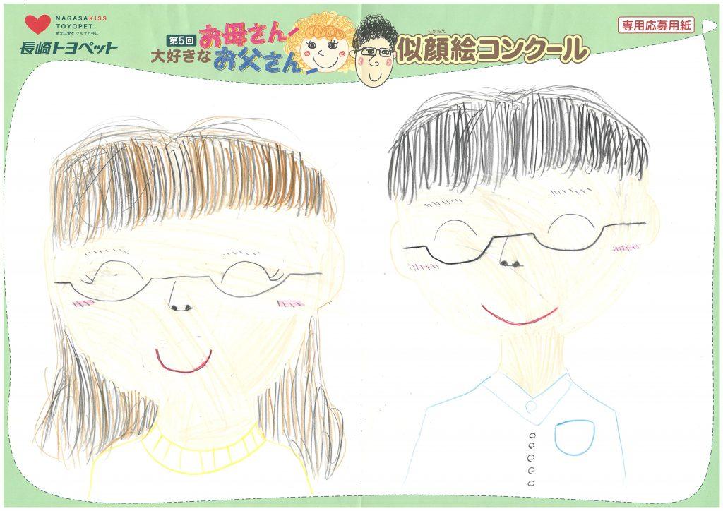 Y.Mちゃん(9才)の作品