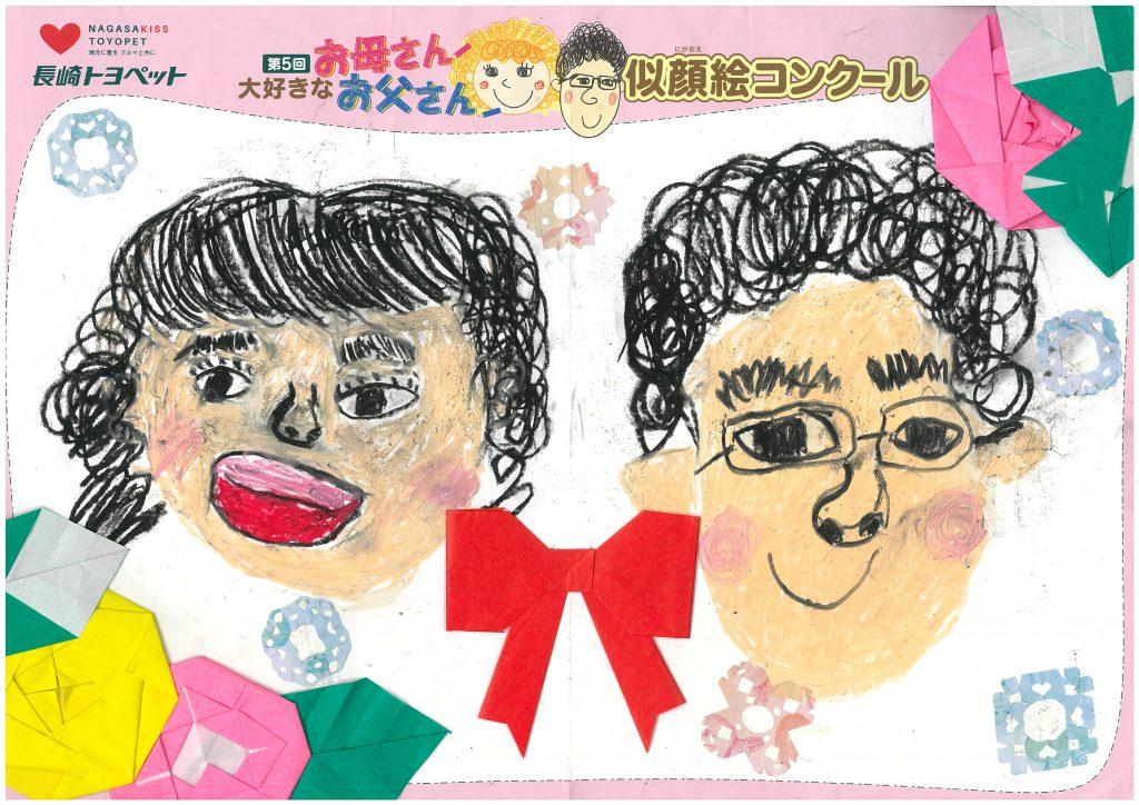 S.Iちゃん(8才)の作品