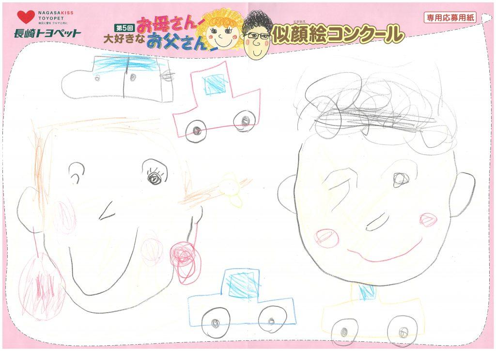 R.Hくん(5才)の作品