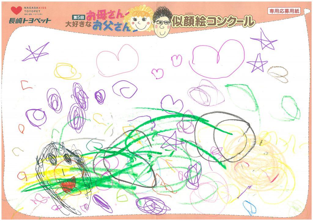 M.Mちゃん(1才)の作品